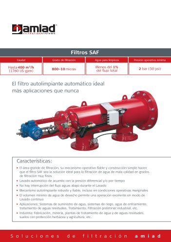 Filtros SAF - Amiad