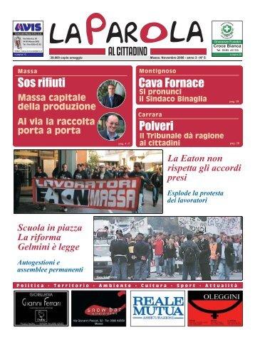 Massa Carrara - Forno