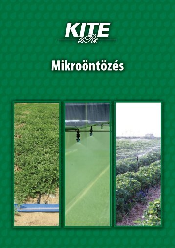 Mikroöntözés, 2007 - KITE Zrt.