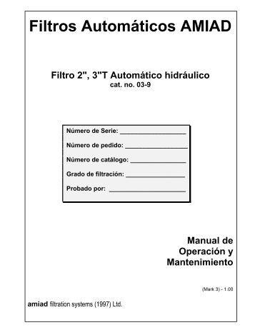 Filtros - Amiad HydroTafb