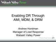 Enabling DR Through AMI, MDM, & DRM - National Town Meeting ...