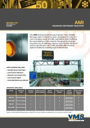 AMI DOWNLOAD data sheet - Variable Message Signs Limited