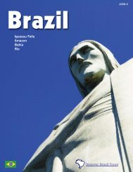 Iguassu Falls Amazon Bahia Rio - Discover Brazil Tours