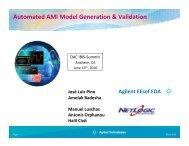 Automated AMI Model Generation & Validation