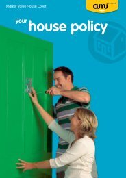 AMI Market Value House Policy - AMI Insurance