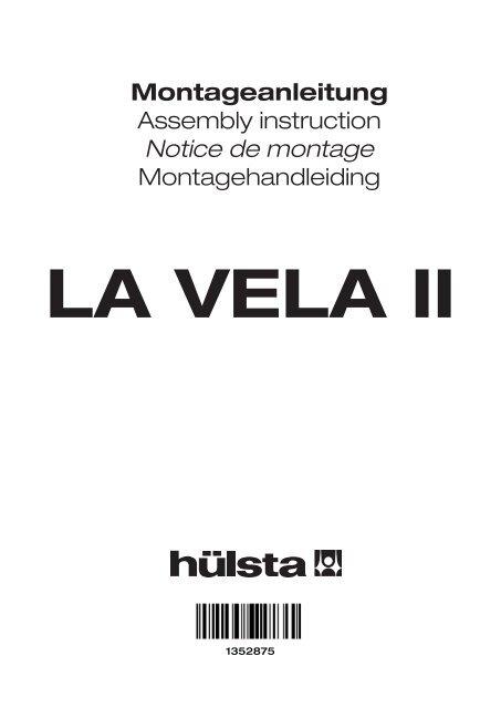 Montageanleitung Assembly Instruction Notice De Montage