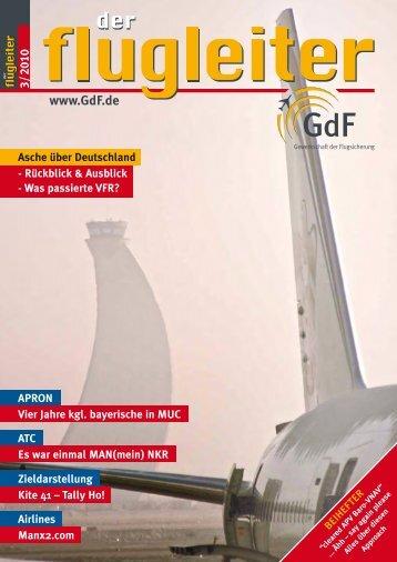 Off the tape - GdF Gewerkschaft der Flugsicherung eV
