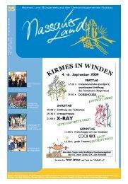 Mitteilungsblatt Ausgabe 35 - Verbandsgemeinde Nassau