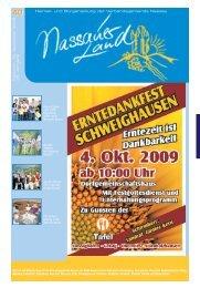 Mitteilungsblatt Ausgabe 40 - Verbandsgemeinde Nassau
