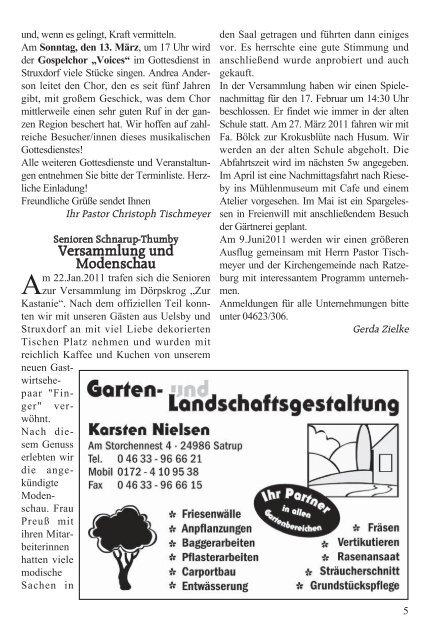 """Dörpskrog """"Zur Kastanie"""" René und Henriette Finger - Wann? Wo ..."""