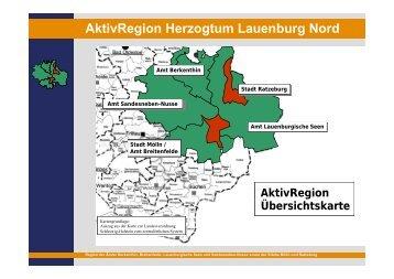 AktivRegion Herzogtum Lauenburg Nord - Institut Raum & Energie