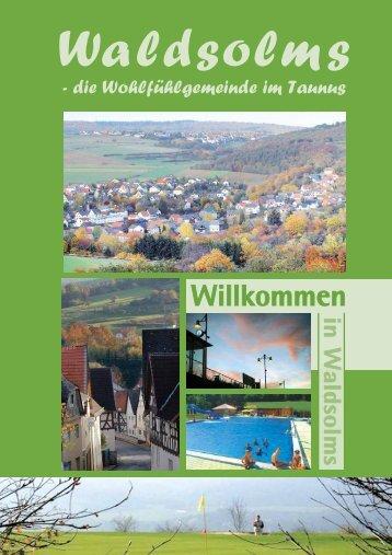 Die Ortsteile unserer Gemeinde - Waldsolms
