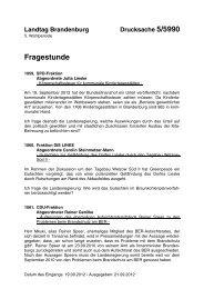 Landtag Brandenburg Drucksache 5/5990