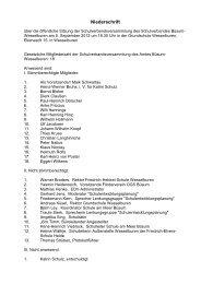 Niederschrift - Amt Büsum-Wesselburen