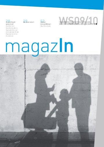 MagazIn WS 09/10 - PDF - Bergische Universität Wuppertal