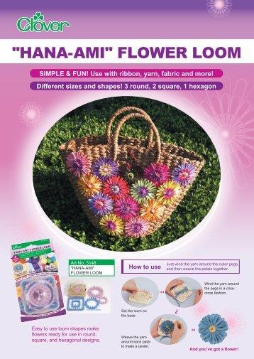 """""""HANA-AMI"""" FLOWER LOOM - CLOVER"""