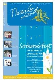 Mitteilungsblatt Ausgabe 24 - Verbandsgemeinde Nassau