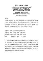 Pressemitteilung Brau Beviale 2007 - Verband Deutscher ...