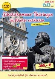 im Winter entdecken - SKAN-TOURS Touristik International GmbH