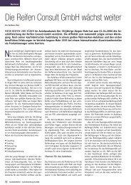Die Reifen Consult GmbH wächst weiter