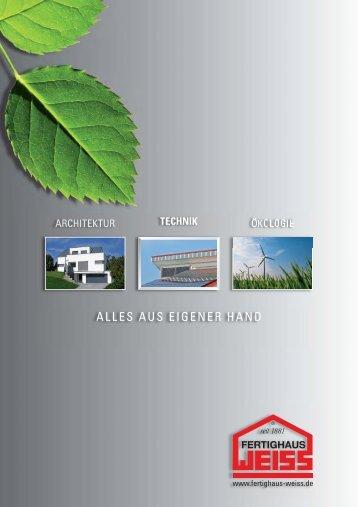 technik - Fertighaus Weiss GmbH