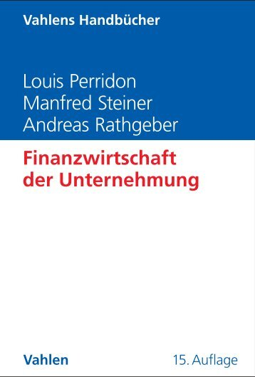 Louis Perridon Manfred Steiner Andreas Rathgeber ... - C.H. Beck