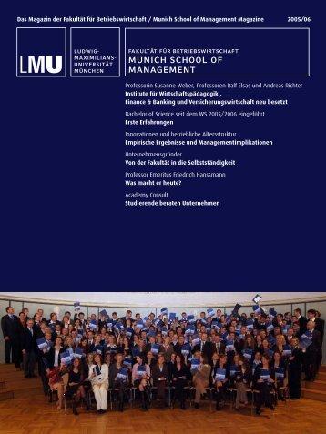 Professorin Susanne Weber, Professoren Ralf Elsas und Andreas ...