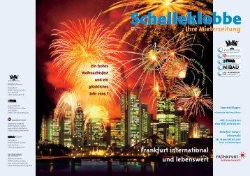 Schelleklobbe Ausgabe Dezember 2004 - ABG Frankfurt Holding