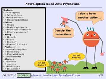 gewichtszunahme neuroleptika