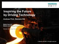 Inspiring the Future by Driving Technology - Siemens