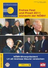 """Wir gratulieren! Ehrenlandesobmann Prof. Stättner ein """"70er"""""""