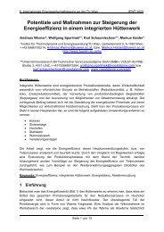 Potentiale und Maßnahmen zur Steigerung der ... - EEG