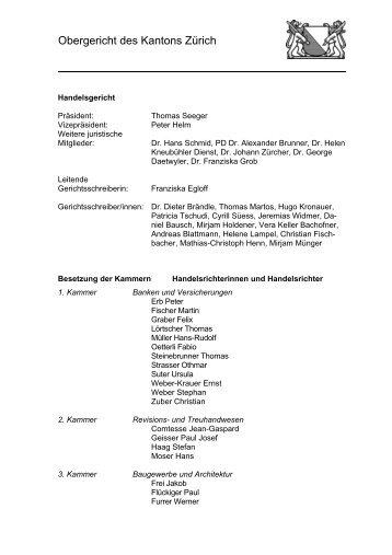 Beschwerde allgemein - Gerichte des Kantons Zürich