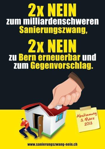 Download PDF - 2 x Nein zum milliardenschweren Sanierungszwang
