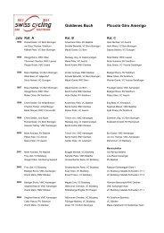 Goldenes Buch Piccolo Giro Amerigo - Cycling-Solothurn