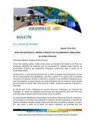 Carta Analdex Sobre Origen en Zona Franca - Aduanimex