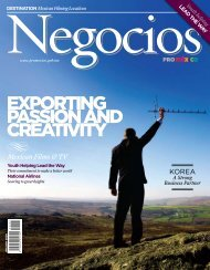 EXPORTING PASSION AND CREATIVITY - ProMéxico