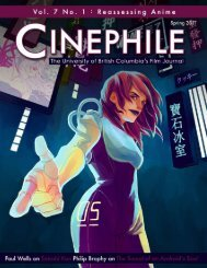 Reassessing Anime - Cinephile