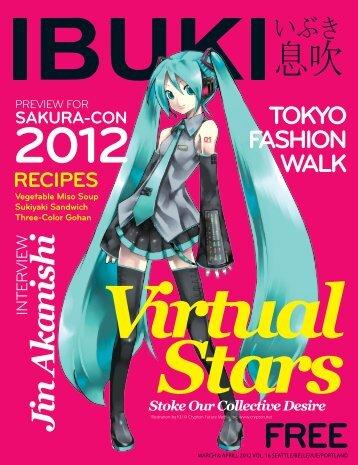 FEaTuRE VIRTual STaRS - IBUKI Magazine