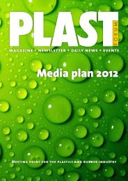 Advertising rAtes 2012 - Plastnet.se