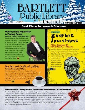 Newsletter - Bartlett Public Library District