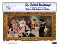 The Virtual Costumer - Silicon Web Costumers' Guild