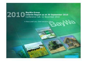 Revenues - BayWa