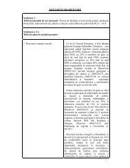 Notă de fundamentare - Ministerul Economiei