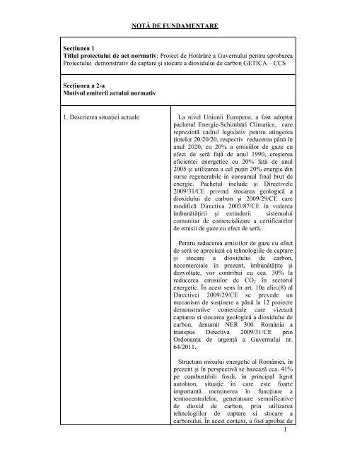 descrierea contului demonstrativ)