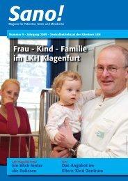 Frau - Kind - Familie im LKH Klagenfurt - Sano!