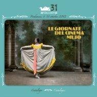 Catalogo Giornate del Cinema Muto 2012 - La Cineteca del Friuli