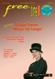 "Olga Tanon ""Mujer de fuego"" Olga Tanon ""Mujer ... - freetimelatino.it"