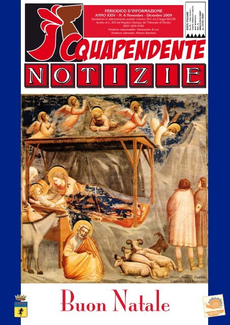 Novembre - Dicembre 2009 - Comune di Acquapendente
