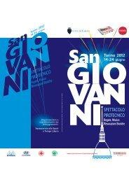 San Torino 2012 14-24 giugno - Città di Torino
